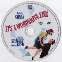 It's a Wonderful Life! DVD (1946) James Stewart Donna Reed Christmas Film