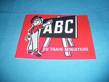 495A Jouef Decauville V E Ho 1/87 Catalogue 20P 14#11 ABC Train Miniature