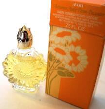 Avon AUTUMN ASTER DEMI-DECANTER Sun Blossoms Cologne .75 fl oz 1978 NOS NIB