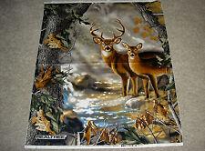 REALTREE Deer Buck Stag Antler Antlers Doe Panel 9903 Print Concepts Fabric
