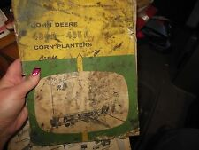 Vintage John Deere 494A and 495A Corn Planters Operator's Manual Om-B25385