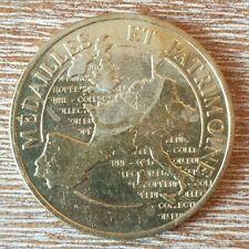 (#700) FRANCE Médaille du Patrimoine; Volcan de Lemptegy (train) 16,16 grammes