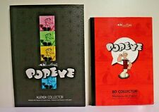 "LOT de 2 BD (petit format) "" POPEYE "" BD + AGENDA COLLECTOR"