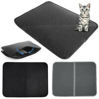 Cat Litter Tray Mat Large Eva Double-layer Pet Kitten Scatter Control Paw Floor