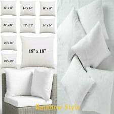 Deep Filled Soft Cushion Inserts Pads NON-ALLERGENIC Fillers Scatters Pillows