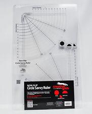 Creative Grids Circular Savvy 11-1.9cm X 18-1.3cm Edredón Regla