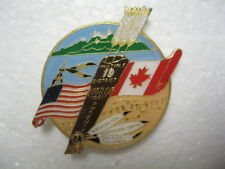 Lions Club Pin Phoenix 1981 Washington Idaho British Columbia Large 2""