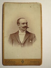 Aussig a. E. - Mann mit Bart im Anzug - Portrait / CDV