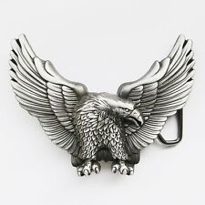 NEW EAGLE AMERICA AMERICAN BIKER USA ANIMAL BIRD NOVELTY BELT BUCKLE
