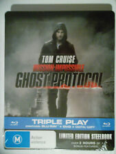 GHOST PROTOCOL , (BLU-RAY +DVD+DIGITAL)BRAND NEW/SEALED