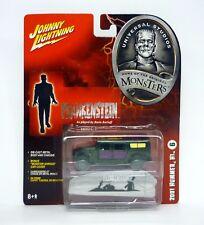 JOHNNY LIGHTNING 2001 HUMMER H1 Universal Studios Monsters Frankenstein MOC 2005