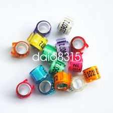 100pcs pigeon NL combination club personal name race dove pigeon ring bands year