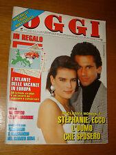 OGGI=1990/12=STEPHANIE DE MONACO=MINA=MARIA CARTA=MIETTA=VASCO ROSSI=SANGOTTARDO
