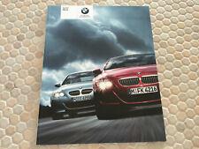 BMW OFFICIAL M5 V10 500hp PRESTIGE SALES BROCHURE USA EDITION 2006