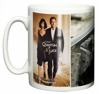 Dirty Fingers Mug, Daniel Craig James Bond Quantum of Solace, Film Design Poster