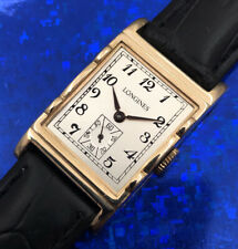 Exquisite Vintage 1945 Mans LONGINES Hand Wind Fully Serviced W/ 1 Year WARRANTY