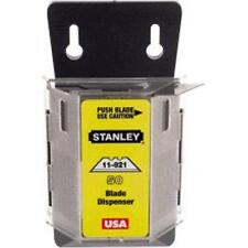 Stanley 11-921A Heavy Duty Utility Knife Blade With Dispenser, 100/Pack