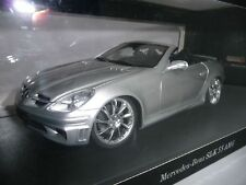 Mercedes-Benz SLK 55 AMG r171 Silver Lorinser lm-6 rims 1:18 Hot Works very rare
