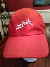 Zhik Ball Cap in Bright Red Sailing Gear Unsized Adult Gently Worn