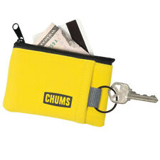 Chums Floating Marsupial Yellow Keychain Zip Pocket Sports Outdoors Wallet
