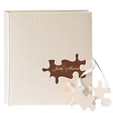 """SALE Gästebuch """"Puzzle"""" Hochzeitsalben Hochzeitsalbum Gästebuch Fotobuch"""