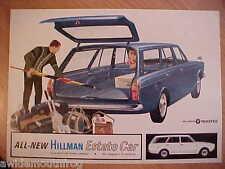 HILLMAN estate car sales brochure 1976