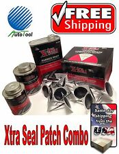 Xtra Seal Tire Repair Complete Combi Kit (patch-plug,glue,sealant,pre-buff)