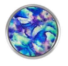 GINGER SNAPS™ BLUE / PURPLE SHELL Jewelry - BUY 4, GET 5TH $6.95 SNAP FREE
