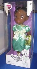 "DISNEY ANIMATORS  DESIGNER PRINCESS TODDLER  ""TIANA"" W/PET COLLECTOR DOLL"