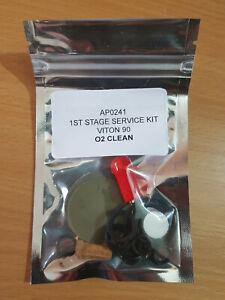 Apeks service kits 1st (AP0241 x 2) & 2nd (AP0219 stage x 2), Viton90 O2 clean