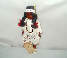 6232 Rachel Morgan CHEROKEE DOLL with a Baby Made by:The Cherokee Cherokee, N.C.