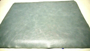 """Large Leather panels 4 pieces Top Quality Large 18"""" x 24"""" Baby Blue"""