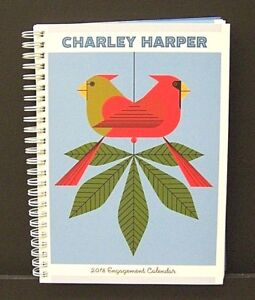 Charles/Charley Harper New 2018 Daily Engagement Calendar