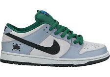 Nike DUNK LOW PREMIUM SB Dove Grey Black Gorge Green 313170-021 (502) Men's Shoe
