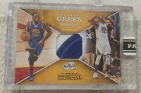 DRAYMOND GREEN Dual Color Jersey Patch #1/50 Panini 2016 Warriors NBA Finals