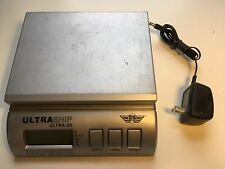 Digital Scale My Weigh Ultraship Electronic Postal Ultra 55 Lbs Silver With Power