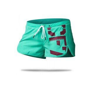 Reebok CrossFit Women's Teal Cordura PlayDry Intensify ii Shorts Z91438