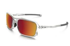 NEW Oakley - Triggerman - Sunglasses Matte Clear / Torch Iridium, OO9266-07