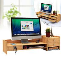 Office Table Organizer Desk Keyboard Rack Computer Home Office Storage Shelf