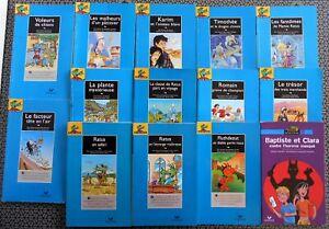 LOT de 14 Livres RATUS POCHE BLEU Série Lecture GRANDS Lecteurs 9-12 ans HATIER