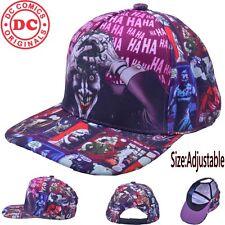 DC Batman Joker Sun Hat Cap Trucker New Curved Cosplay Collection