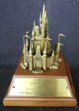 Walt Disney World Employee Cast Service Award 15 Years Bronze Cinderella Castle