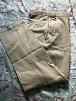 """Trousers Jeans Size 32"""" Waist.Men's.Stone.Straight Leg.L33"""".By Marks & Spencer"""