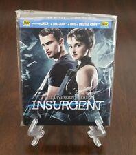 Insurgent Best Buy Exclusive Steelbook. 3D/2D Blu-ray + DVD.