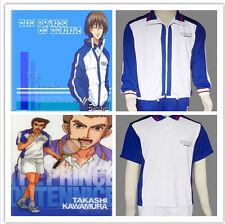 Prince of Tennis Echizen Ryoma Cosplay White Mens Japanese School Uniform