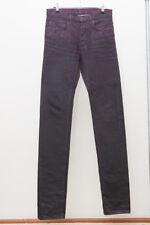 Dior Homme waxing moon size 28 MIJ japan hedi wax black purple slim skinny jeans