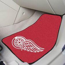 FANMATS NHL Detroit Red Wings Nylon Face Carpet Car Mat