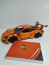 Lego Technic Porsche 911 gt3 rs 42056 With Manual