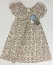 Serendipity Girls Size 5 100% Organic Cotton Floral Dress Short Sleeve