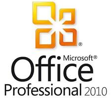 Office Professional Plus 2010 - W/scrap, 100% Genuine, Lifetime Key For Windows